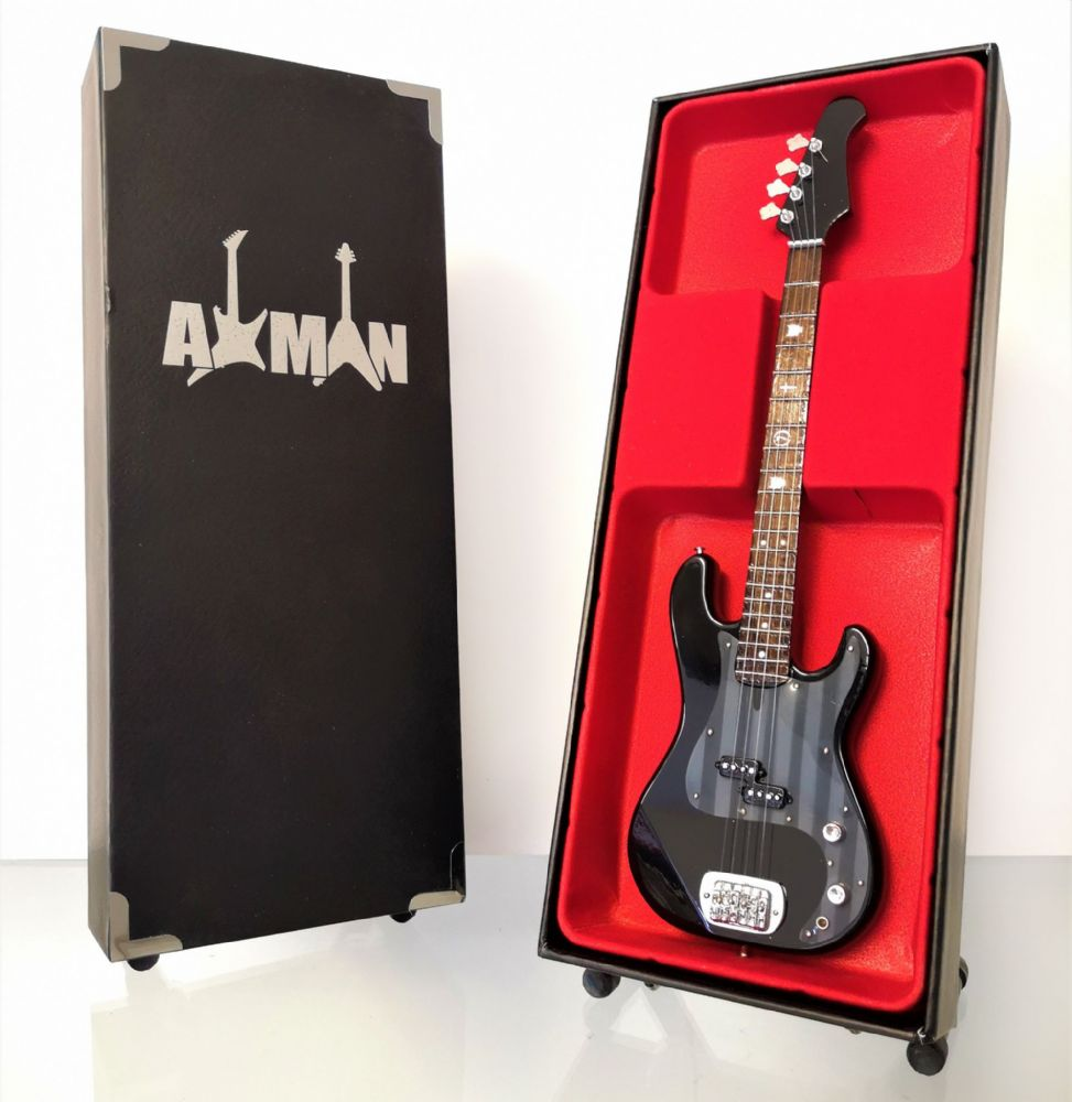 (Black Sabbath) Geezer Butler: Lakland Signature Bass - Miniature Guitar Replica